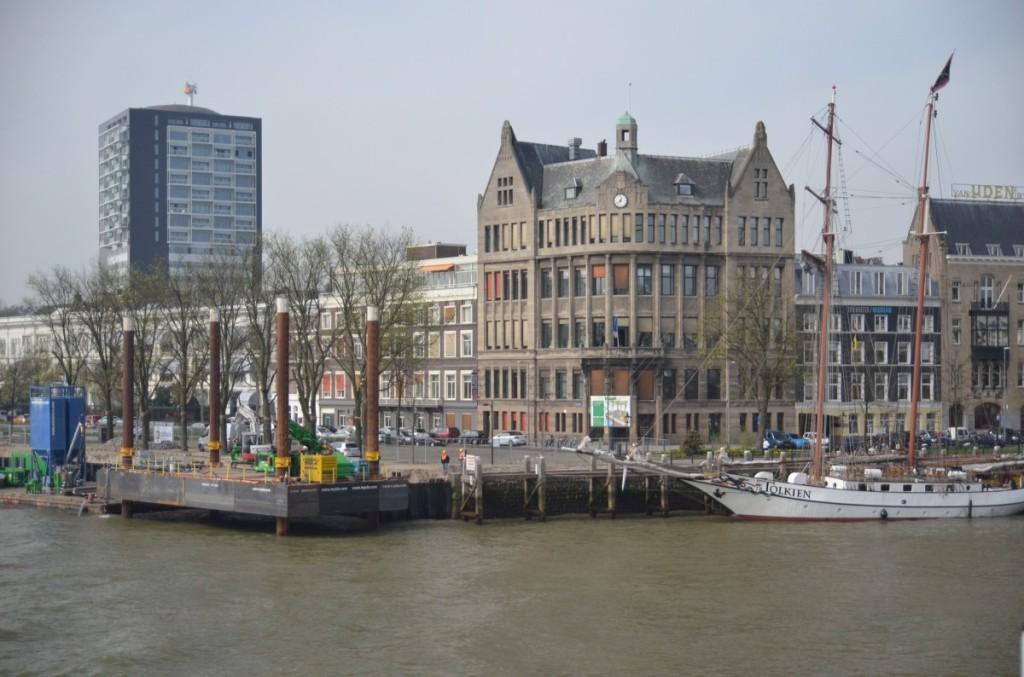 Bild: Rotterdam  alt und neu Pausenblicke