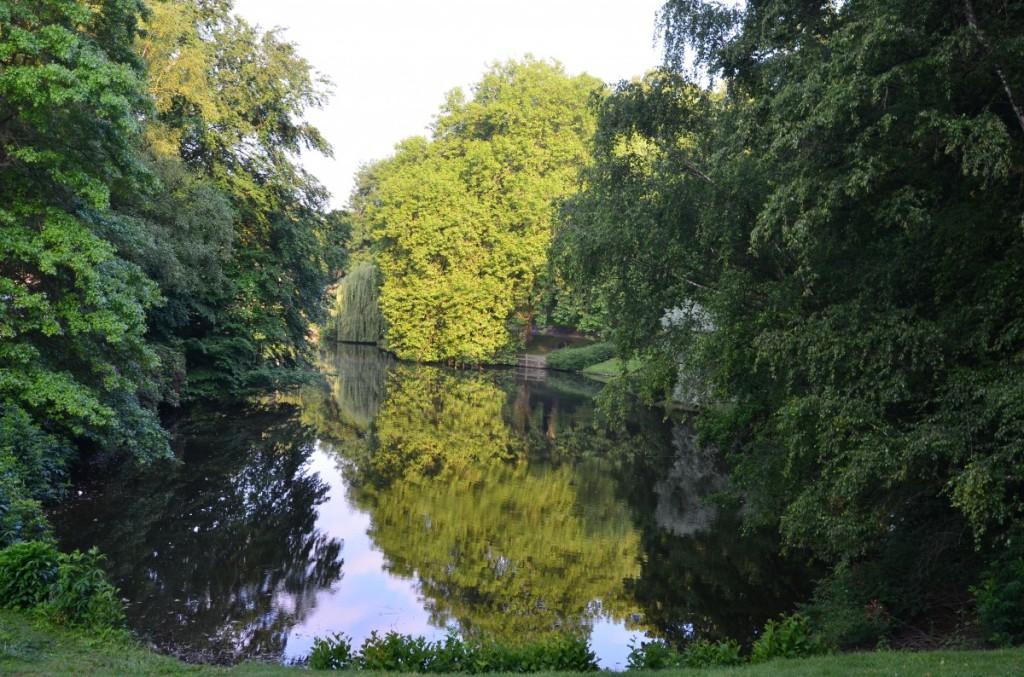 Bild: Münster Promenade Spiegelung