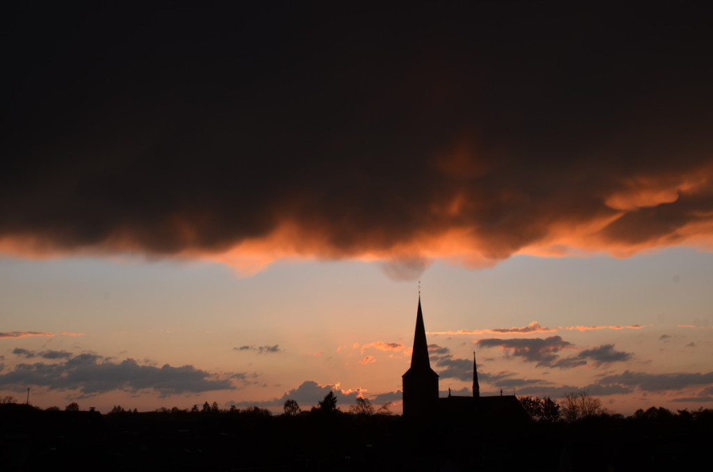Bild: Münster Amelsbüren Gewitter Pausenblicke