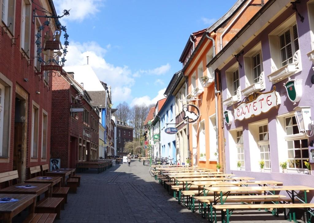 Bild:Münster Kreuzstrasse Kuhviertel Lokale Kneipen Gaststätten